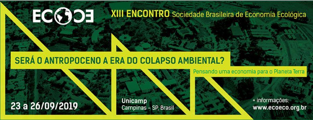 Anais dos Encontros da Sociedade Brasileira de Economia Ecológica – ECOECO – ISSN: 2175-3970