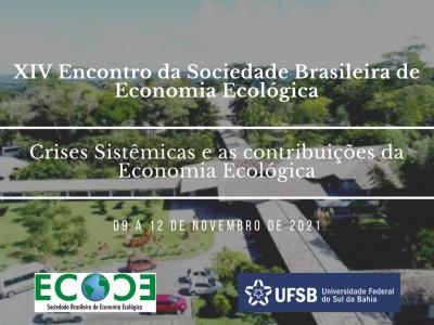 XIV Encontro da Sociedade Brasileira de Economia Ecológica